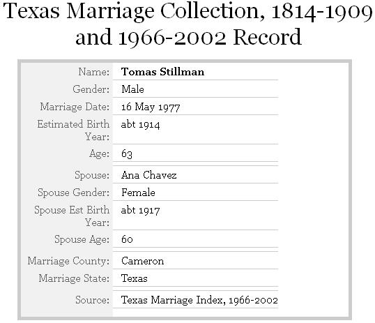 marriage records willacy county tx